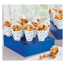 Coni Snack Blue con vassoio
