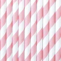 Cannucce Spiral Bianco/Rosa10pz