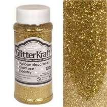 Glitter per Palloncini Gold