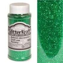 Glitter per Palloncini Smeraldo