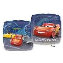 "palloncino 18"" mylar Square Cars 3 Lightning"