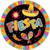 """Piatto grande Messico """"Fiesta"""" 26.7 cm"""