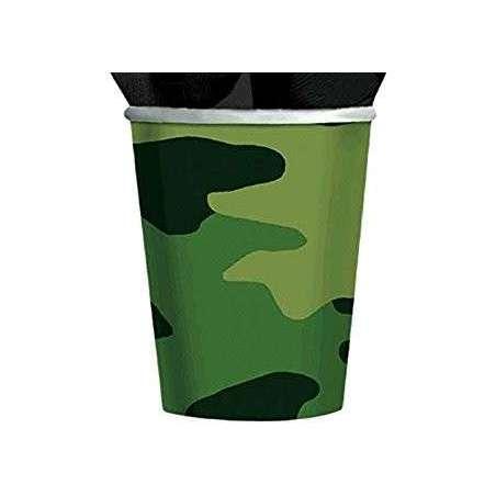 """Bicchiere Mimetico """"Camouflage"""" 266ml"""