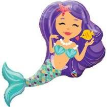 Palloncino Super Shape mylar Enchanting Mermaid