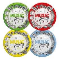 """Piatto Piccolo Mix """"Music Party"""" 8pz"""