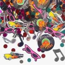 Confetti Note Musicali, Rock & roll, ecc