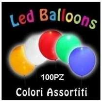 LED Bianchi per Palloncini 100pz