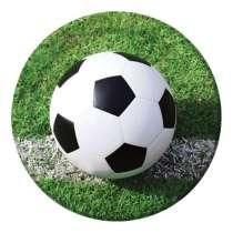 """Piatto Grande Calcio """"Soccer Fanatic"""" 8pz"""