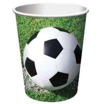 """Bicchiere Calcio """"Soccer Fanatic"""" 8pz"""