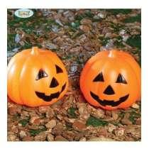 Zucca di Halloween Luminosa 15cm
