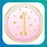 Buon 1° Compleanno Rosa