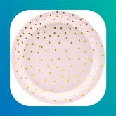 Cipria c/Confetti Oro