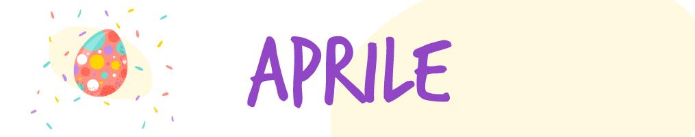 Novità Aprile