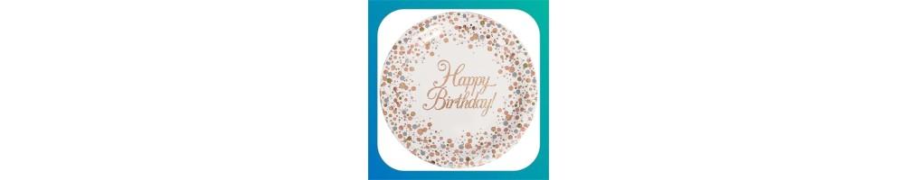 Happy Birthday Rose Gold