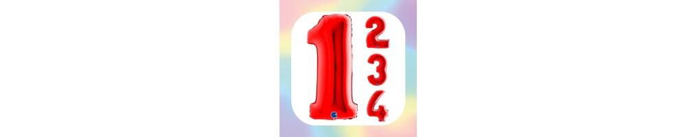"Numeri 40"" Rosso ""Red"""