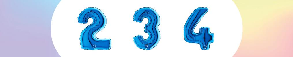 """Numeri 40"""" Blu """"Blue Royal"""""""
