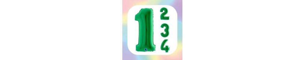 "Numeri 40"" Verde ""Green"""