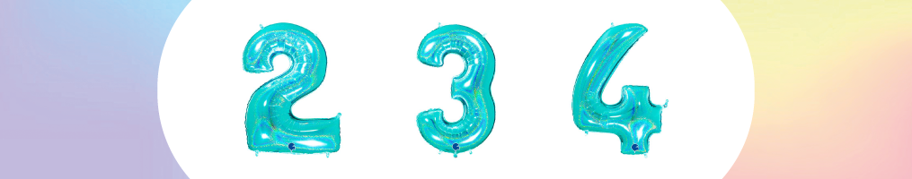 """Numeri 40"""" Tiffany Glitter Olografico"""