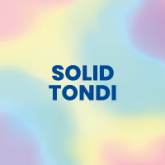"Solid Color Round ""Tondi"""