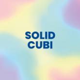 "Solid Color Square ""Cubi"""