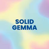 """Solid Color Gem """"Gemma"""""""