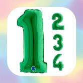 "Numeri 14"" Verde ""Green"""