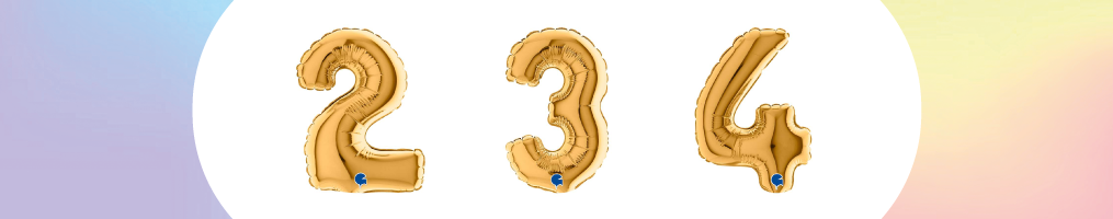 "Numeri 7"" Oro ""Gold"""