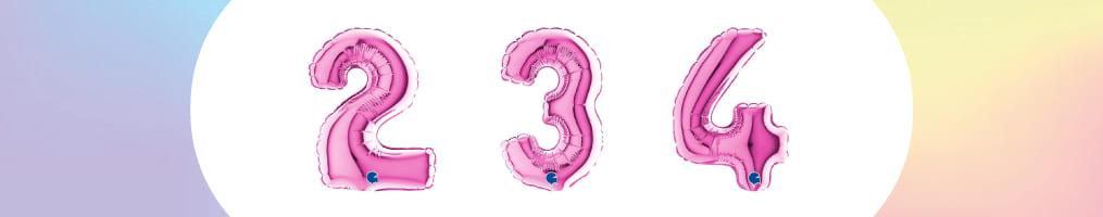 """Numeri 7"""" Fucsia """"Fuxia"""""""