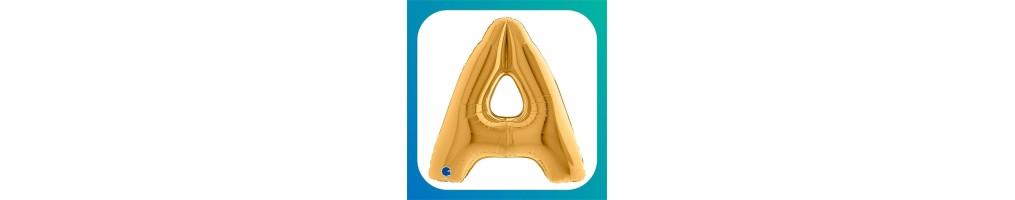 """Lettere Grandi Oro 40""""/102cm"""