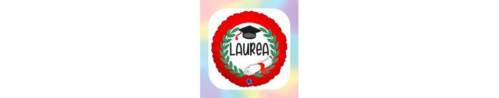 "18"" Message ""Laurea"""