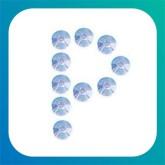 Lettere e numeri adesivi strass