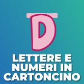 Lettere e Numeri in cartoncino