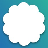 Margherite in Bricotex/Polytulle (TNT)