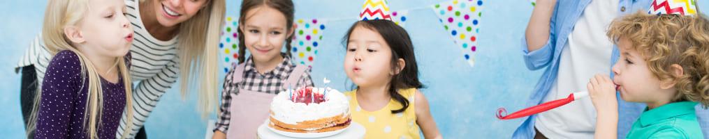 Candeline ed effetti torta