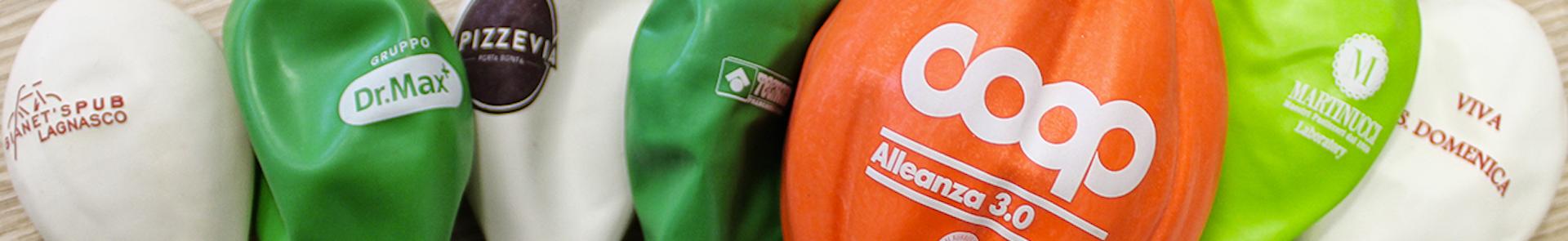 palloncini con logo personalizzato